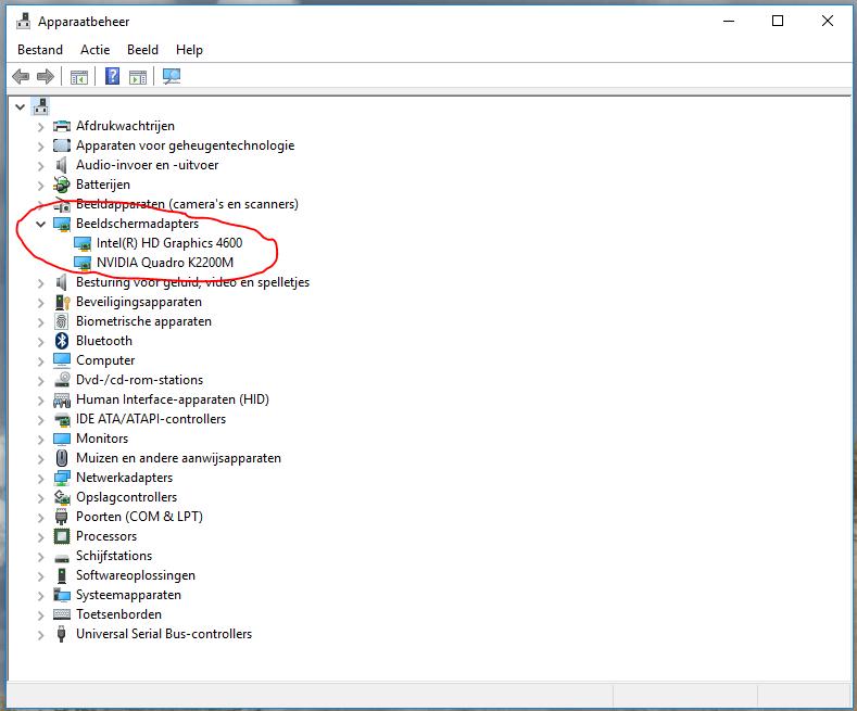 Windows 10 zwart scherm drivers updaten 2