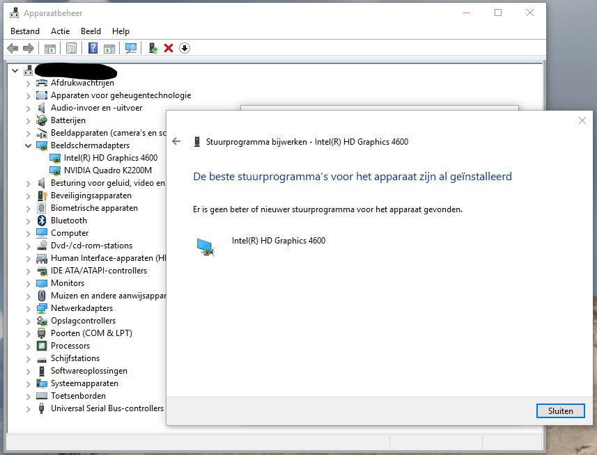 Windows 10 zwart scherm drivers updaten 6