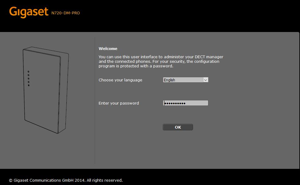 gigaset-login-page