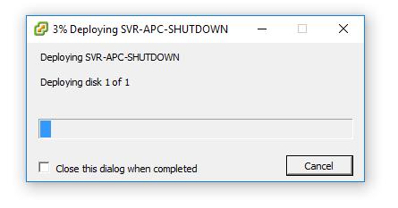 powerchute network shutdown installatie 11