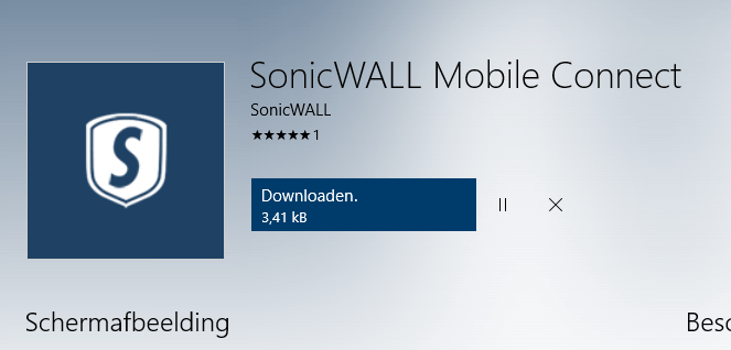 Sonicwall Mobile Connect 3