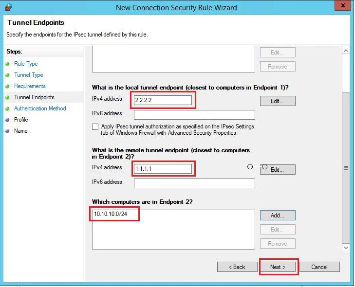Sonicwall site2site vpn server 2012r2 24
