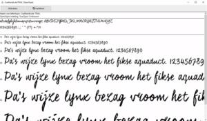 Lettertypes beheren in Windows : Helemaal niet zo moeilijk !