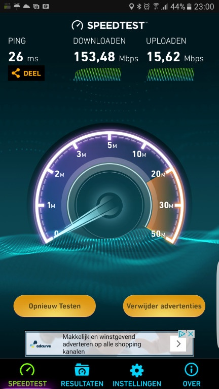 speedtest smartphone