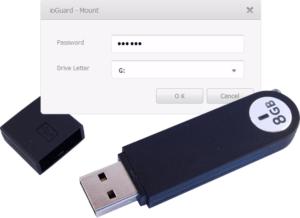 Je USB Stick beveiligen met ioGuard Drive