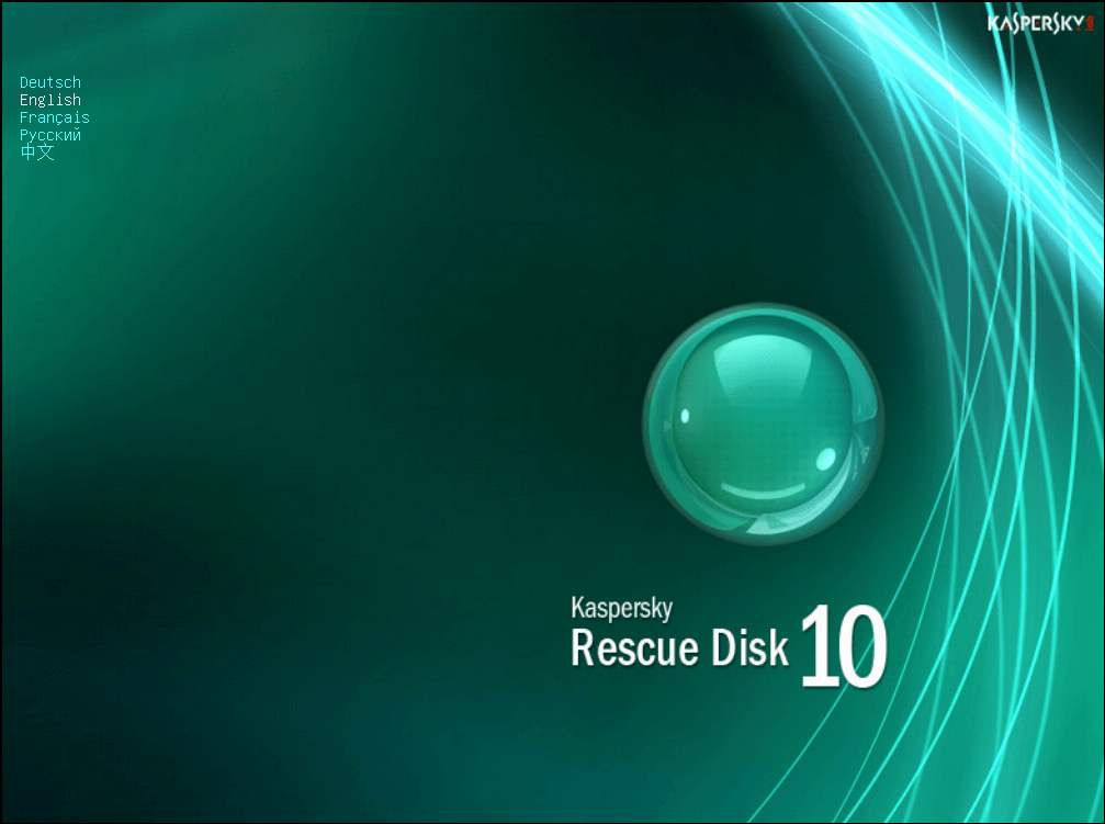 Kaspersky rescue cd gebruiken 2