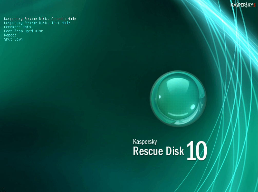 Kaspersky rescue cd gebruiken 4