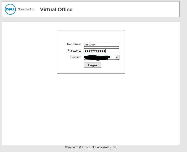 SonicWall password change werkt niet ssl vpn 10