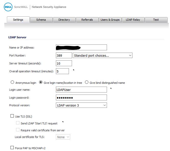 SonicWall password change werkt niet ssl vpn 2