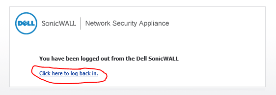 SonicWall password change werkt niet ssl vpn 5