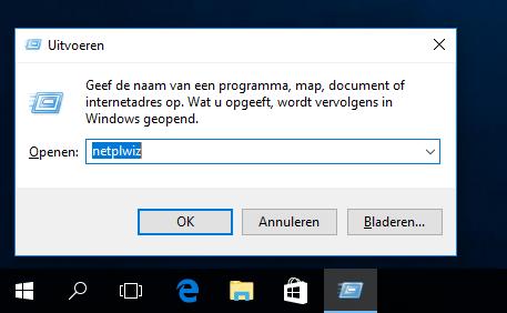 Windows 10 automatisch aanmelden 2