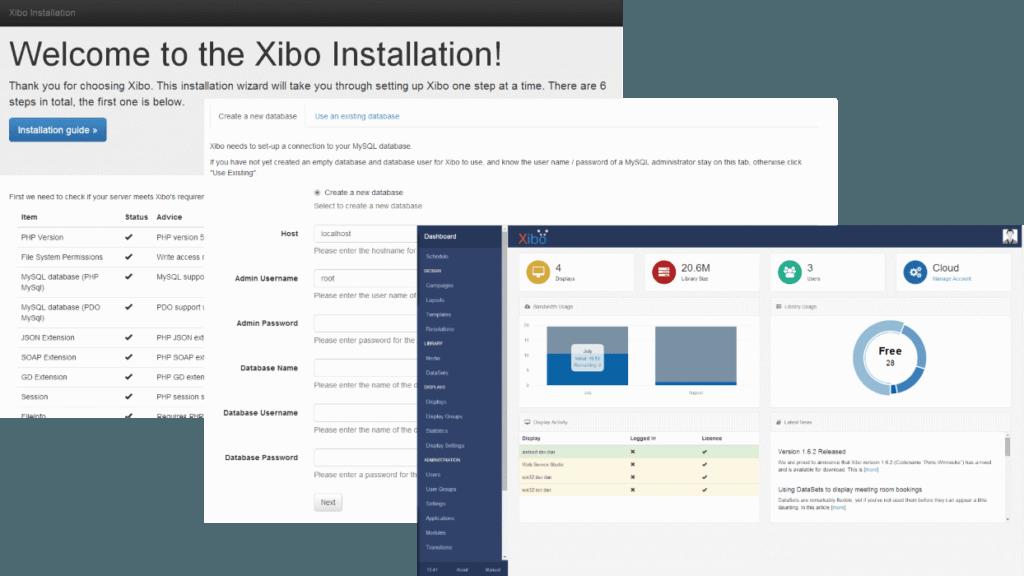 xibo installatie en configuratie 2