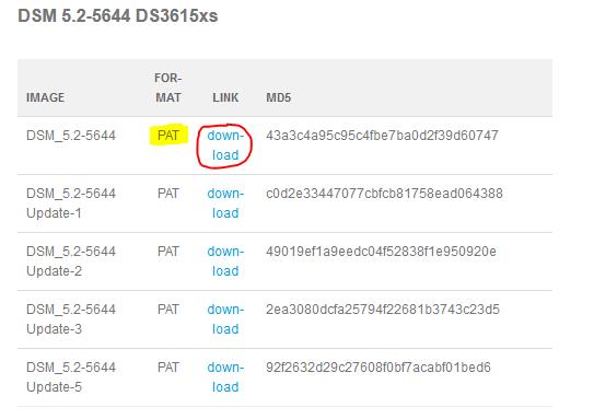 xpenology installeren op een computer downloaden 2