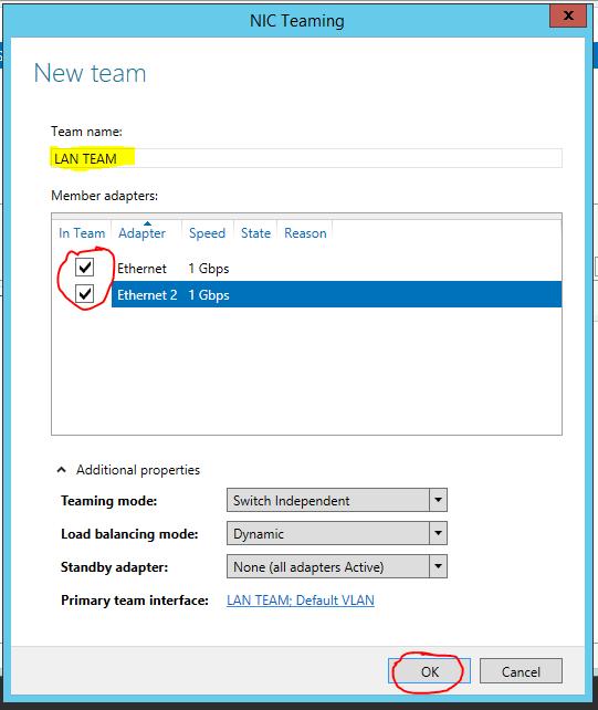 Server 2012 NIC Teaming setup 03