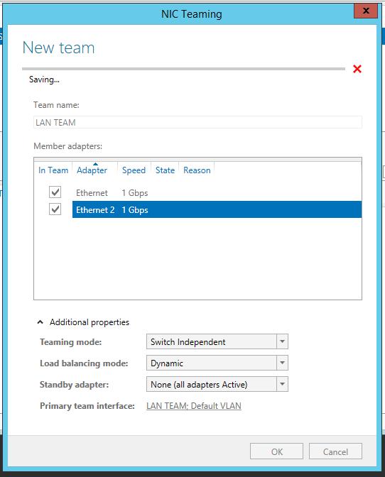 Server 2012 NIC Teaming setup 04