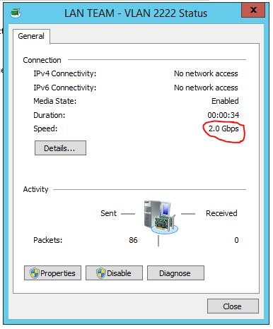 Server 2012 NIC Teaming setup 09