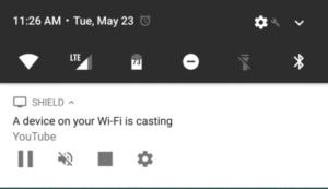 Voorkomen dat anderen chromecast-videos kunnen pauzeren