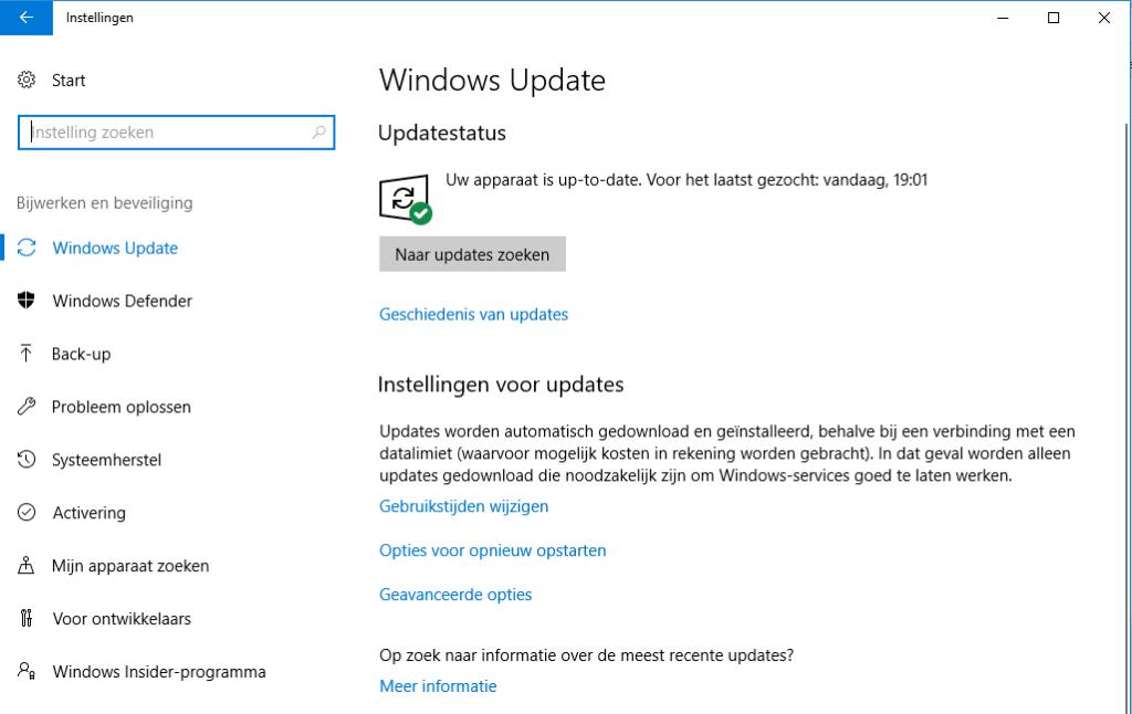 Windows handmatig updaten - hoe doe je dat 1