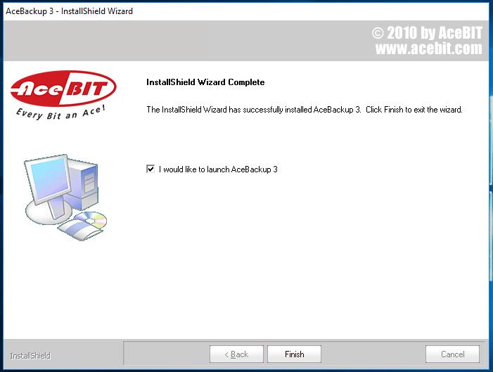 7-acebackup-installatie-klaar
