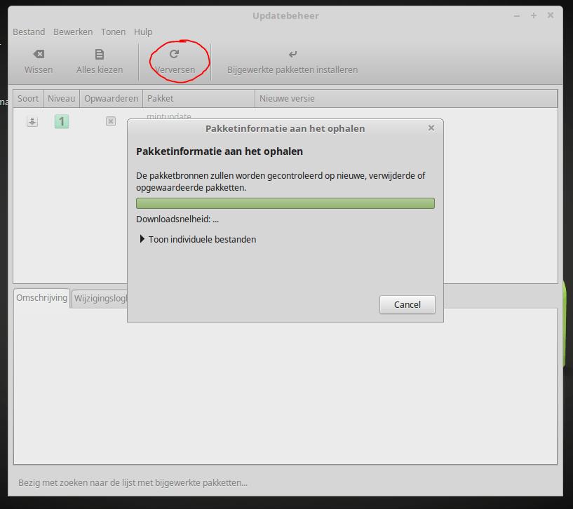 Linux mint updates
