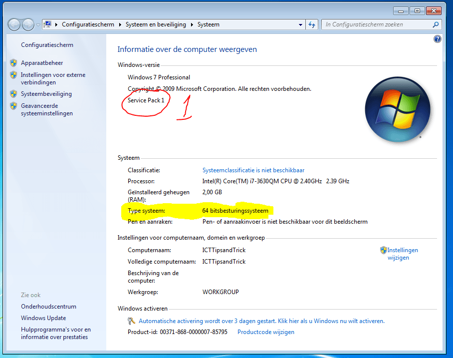 windows-7-systeem