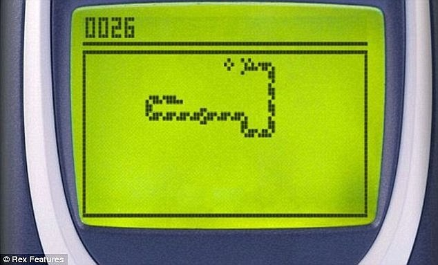 nokia snake game phone telefoon