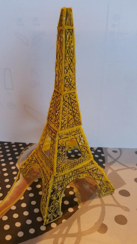 3d printer pen eiffeltoren