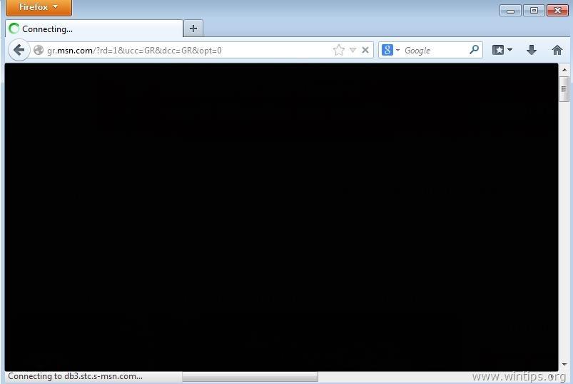 firefox-zwart-scherm 1