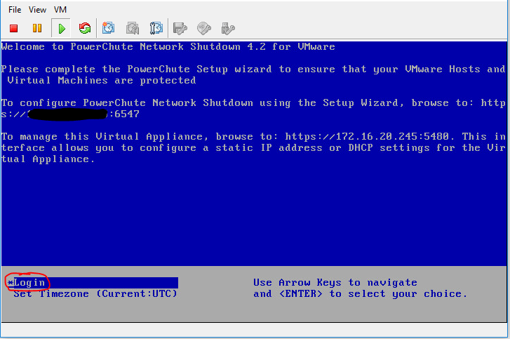 powerchute network shutdown configureren 6