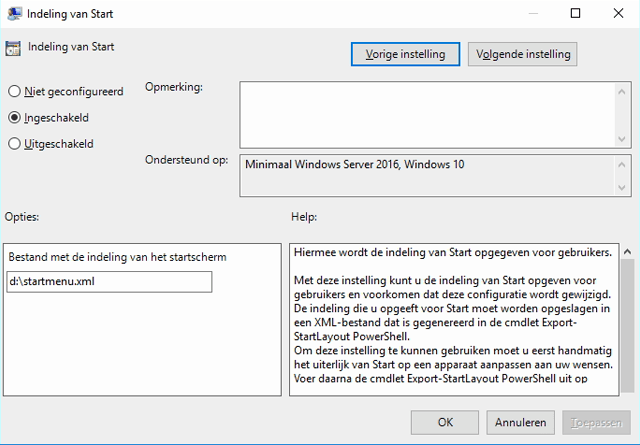 win10 start menu exporteren en uitrollen 2