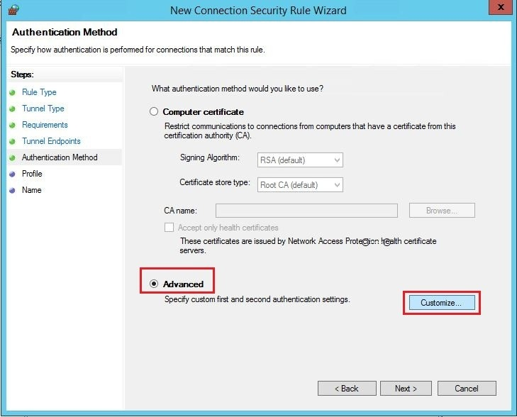 Sonicwall site2site vpn server 2012r2 26