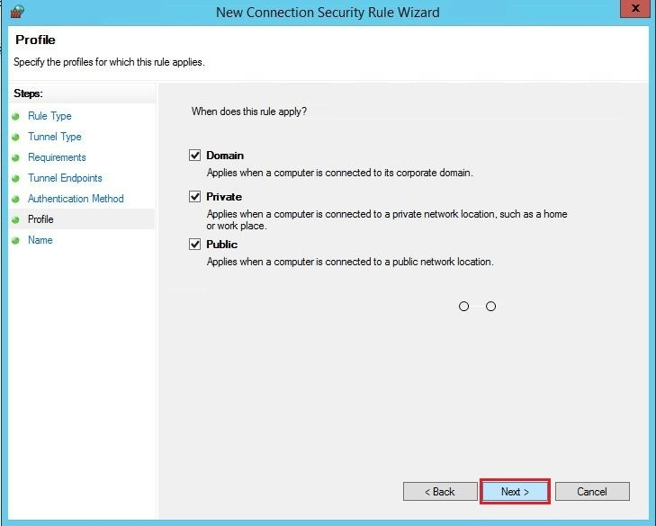 Sonicwall site2site vpn server 2012r2 30