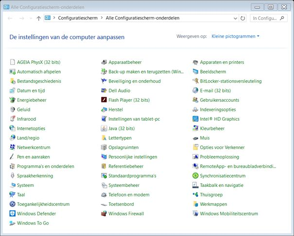 Windows 10 Wifi wachtwoord qwerty ipv azerty 6