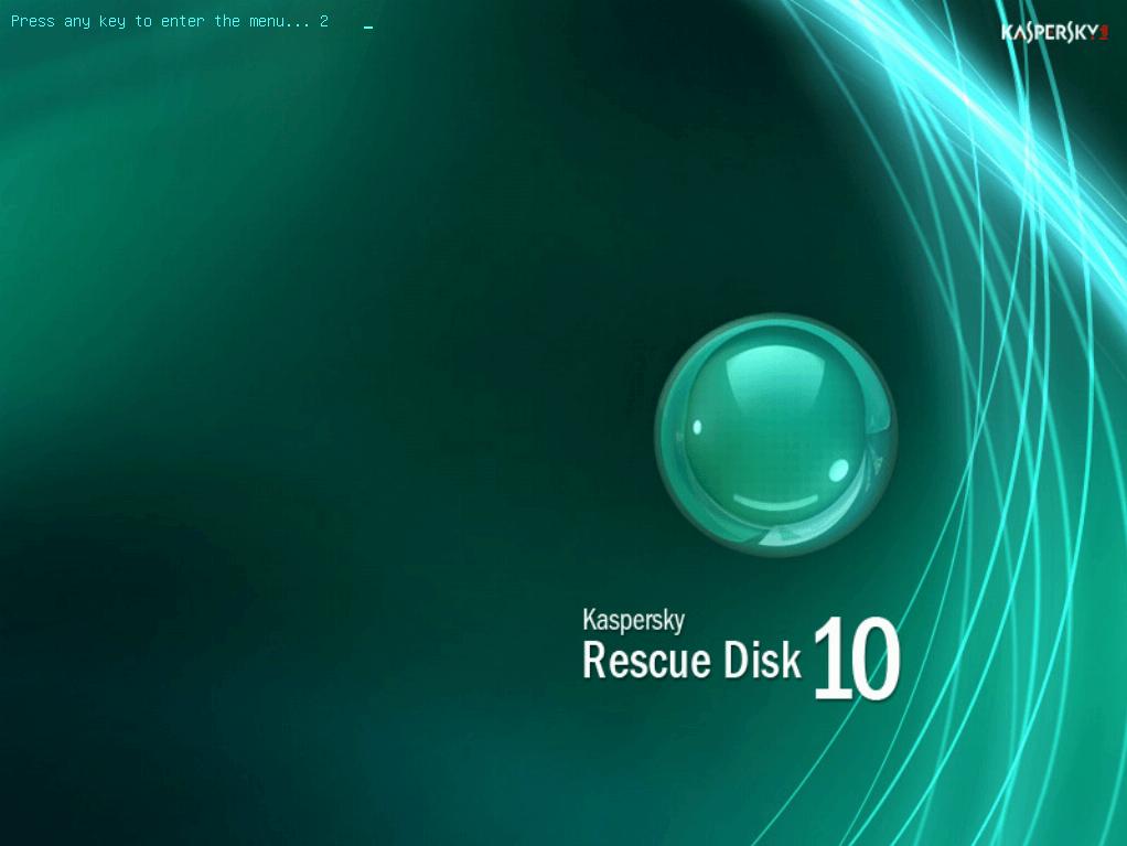 Kaspersky rescue cd gebruiken 1