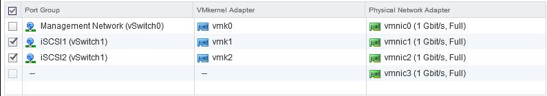 iSCSI Port Binding configureren in VMware vSphere 6 - 12
