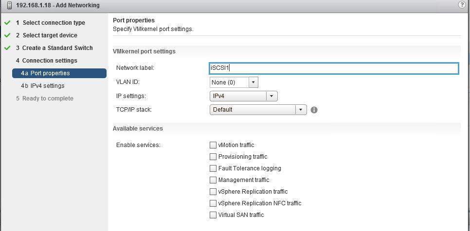 iSCSI Port Binding configureren in VMware vSphere 6 - 4