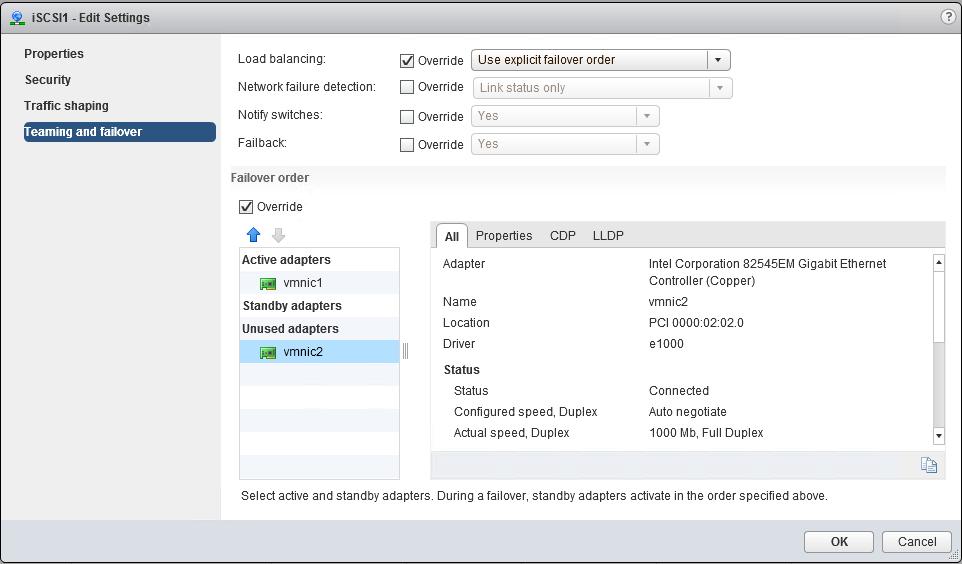 iSCSI Port Binding configureren in VMware vSphere 6 - 8