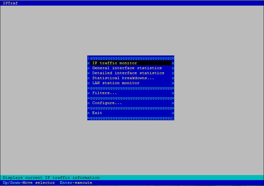 ubuntu linux iptraf