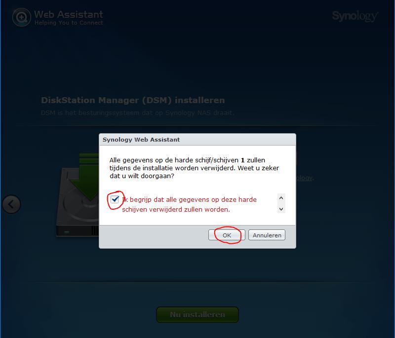 xpenology installeren op een computer 7