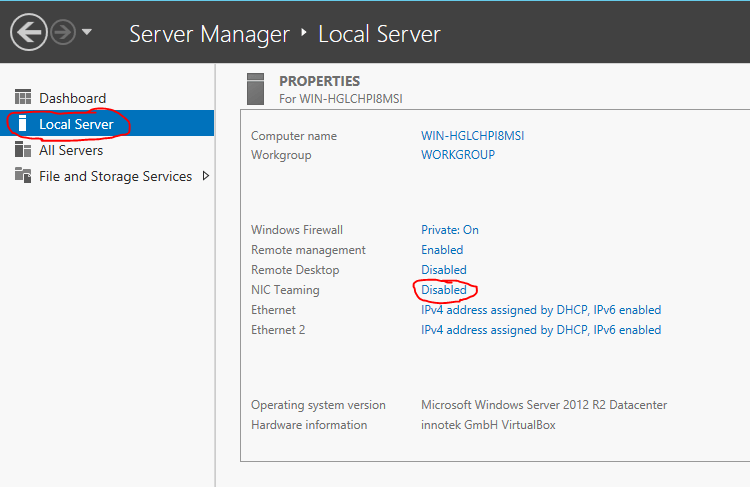Server 2012 NIC Teaming setup 01