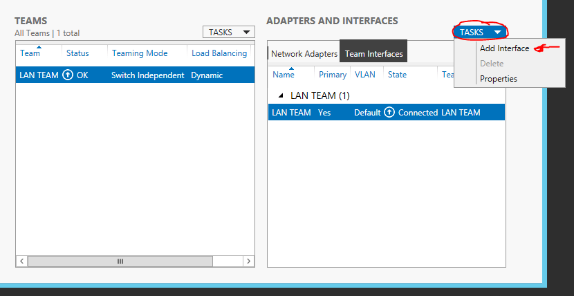 Server 2012 NIC Teaming setup 07