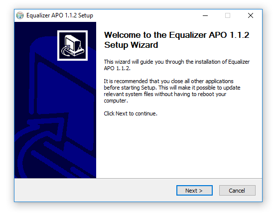 Equalizer in windows 01