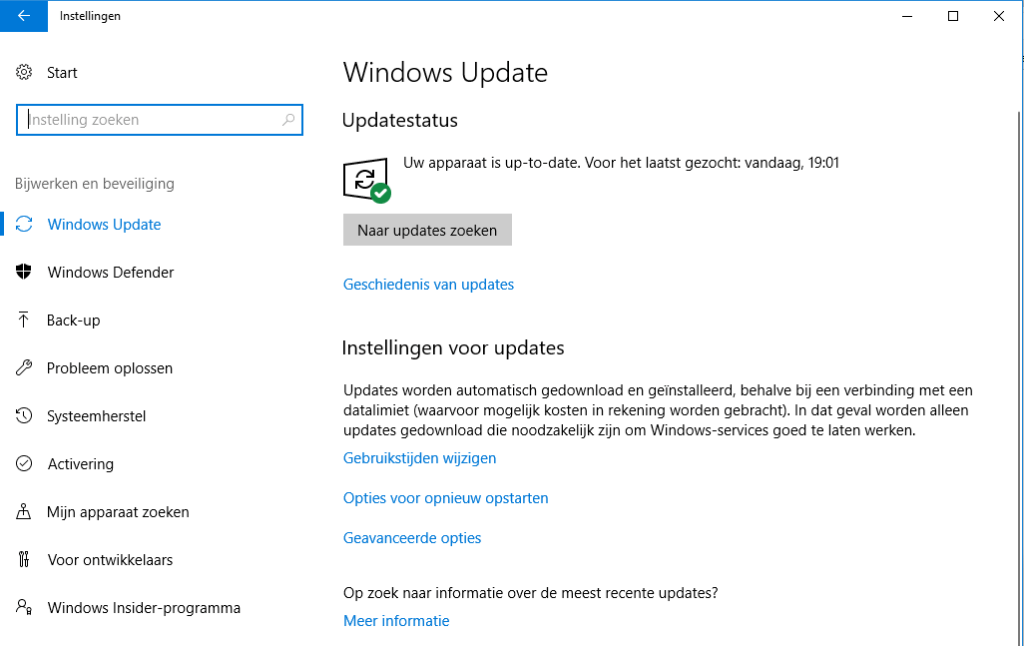 Windows handmatig updaten - hoe doe je dat 1
