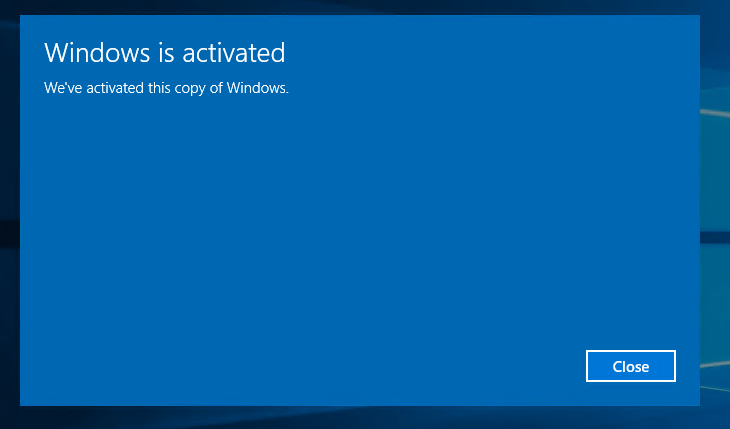 Windows met commandline activeren 05