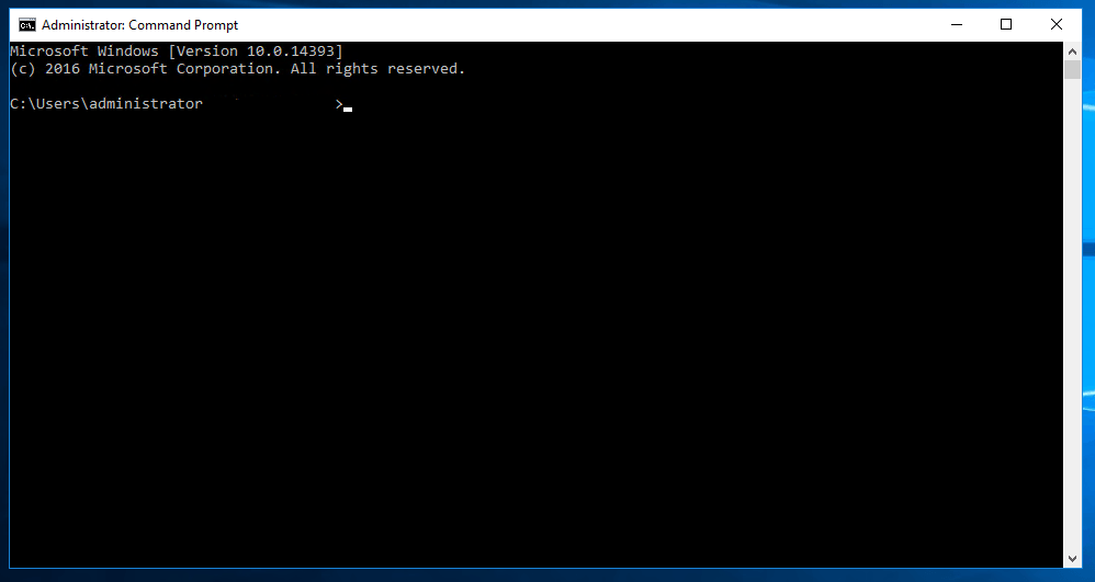 Windows met commandline activeren 06