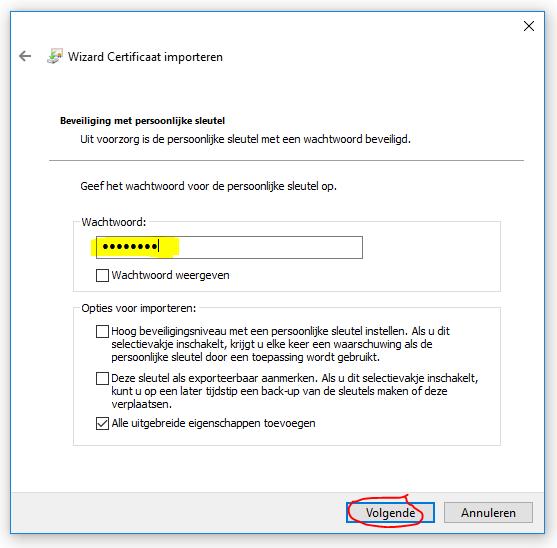 protime pronet proteam installeren en configureren 03