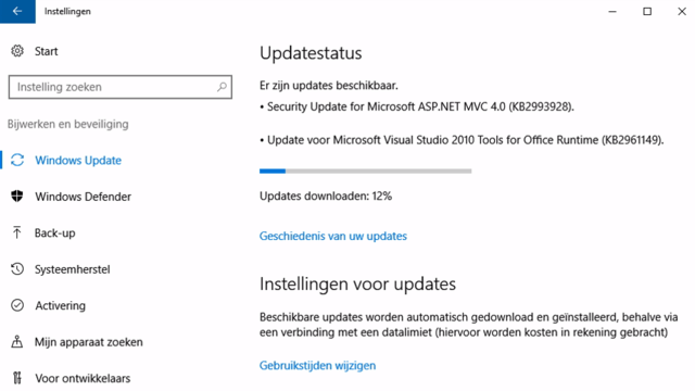 Controle over Windows 12