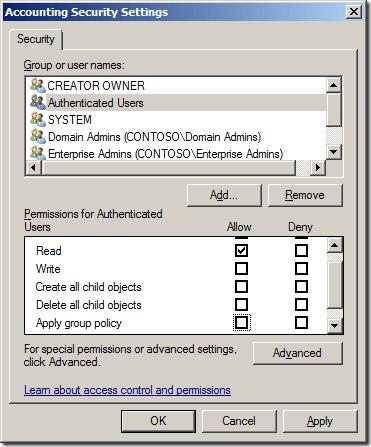 GPO toewijzen aan gebruikers of groepen 04