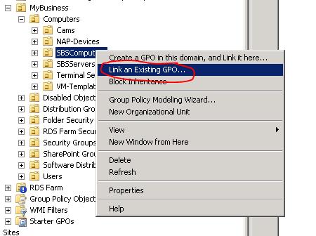GPO toewijzen aan gebruikers of groepen 06