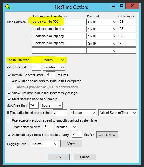 NetTime gebruiken in Windows netwerk 03